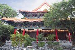 Hong Kong Китайский грех Wong tai виска Стоковое фото RF