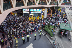 Hong Kong 1 July Marches Royalty Free Stock Images