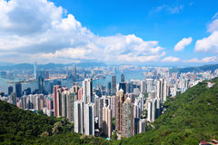 hong kong Obraz Royalty Free
