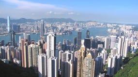 панорама Hong Kong Стоковое фото RF