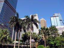 панорама Hong Kong Стоковые Изображения