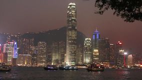 Hong Kong. View of Hong Kong Skyline