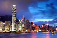 город Hong Kong стоковое фото rf