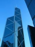 Hong Kong. Skyscrapers on Hong Kong Island Royalty Free Stock Images