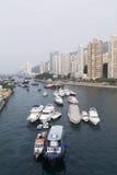Hong Kong - Aberdeen Arkivfoto