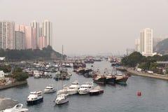 Hong Kong - Aberdeen Royaltyfri Foto