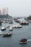 Hong Kong - Aberdeen Royaltyfri Bild