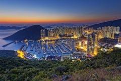 Hong Kong Aberdeen Immagini Stock