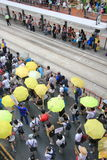 Hong Kong activists march ahead of vote on electoral package Royalty Free Stock Photo