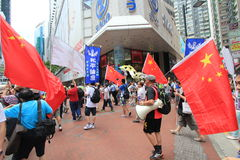 Hong Kong activists march ahead of vote on electoral package Stock Images