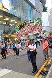 Hong Kong activists march ahead of vote on electoral package Royalty Free Stock Photos