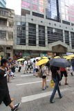 Hong Kong activists march ahead of vote on electoral package Royalty Free Stock Photography