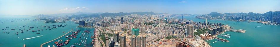 Hong Kong aerial Stock Image