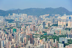 Hong Kong aerial Royalty Free Stock Image