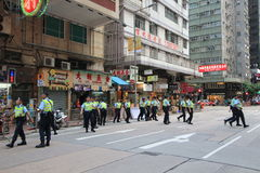 2012 Hong Kong against government marches Stock Images