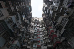 Hong Kong aglomerado fotos de stock royalty free