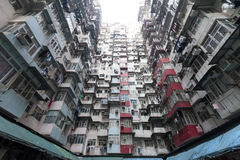 Hong Kong aglomerado foto de stock royalty free