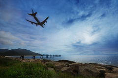 Hong Kong airport Royalty Free Stock Images