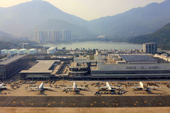 Hong Kong Airport Royaltyfri Foto