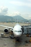 Hong Kong Airport Royalty Free Stock Photos