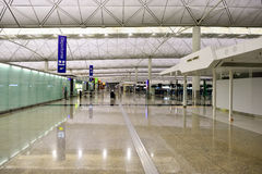 Hong Kong Airport Royalty Free Stock Photo