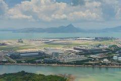 Hong Kong Airport hall Royalty Free Stock Photos