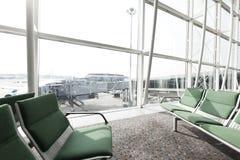 Hong Kong airport in Hong Kong. Royalty Free Stock Images