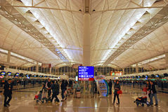 Hong Kong Airport Royalty Free Stock Photography