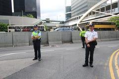 2015 Hong Kong aktywiści maszerują naprzeciw głosowania na elektoralnym pakunku Obrazy Royalty Free