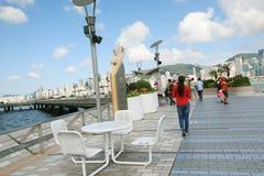 Hong Kong aleja gwiazdy obrazy stock
