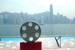 Hong Kong - Allee der Sterne Stockfotografie