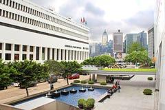 Hong Kong allmän stolpe - kontor Royaltyfri Bild