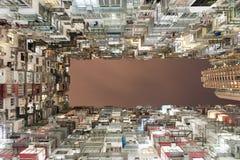 Hong Kong ammucchiato Immagini Stock Libere da Diritti