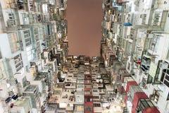 Hong Kong ammucchiato Fotografie Stock