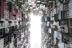 Hong Kong ammucchiato Fotografie Stock Libere da Diritti