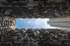 Hong Kong ammucchiato Fotografia Stock