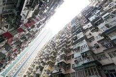 Hong Kong ammucchiato Fotografia Stock Libera da Diritti