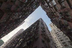 Hong Kong ammucchiato Immagine Stock Libera da Diritti
