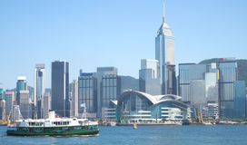Hong Kong And Star Ferry Harbour Tour Royalty Free Stock Image