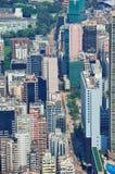 Hong Kong antenn Arkivbilder
