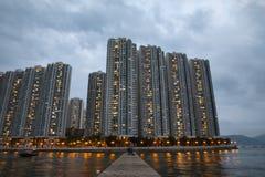 Hong Kong Ap Lei Chau imagens de stock
