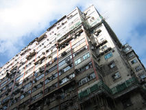 Hong Kong apartement building Stock Images