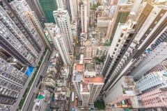 Hong Kong apartment block Stock Photos