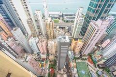 Hong Kong apartment block Royalty Free Stock Photo