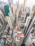 Hong Kong apartment block Royalty Free Stock Image