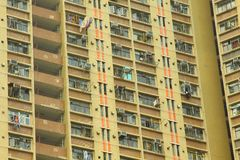 Hong Kong apartment blocks Stock Photos