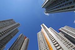 Hong Kong apartment blocks Stock Photos