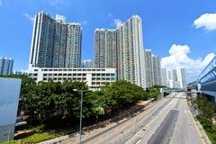 Hong Kong apartment blocks at day Royalty Free Stock Images