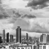 Hong Kong apartment skyline Royalty Free Stock Images