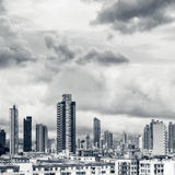 Hong Kong apartment skyline Royalty Free Stock Photos